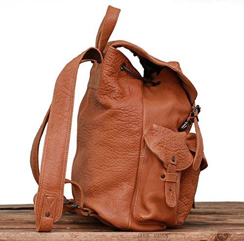 Leather Full Le Backpack Marius Buffalo Paul Sand Grain Meridien XRxxq7wH