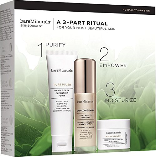 BareMinerals Skinsorials A 3-Part Ritual Gift Set - Normal To Dry Skin
