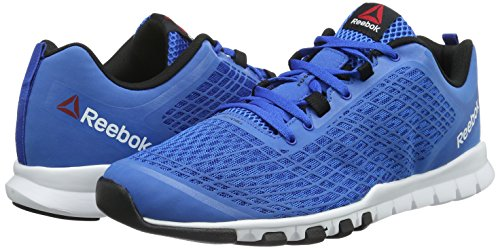 Reebok Everchill Train - Zapatillas unisex, color azul / negro / blanco Azul / Negro / Blanco (Blue Sport/Black/White)