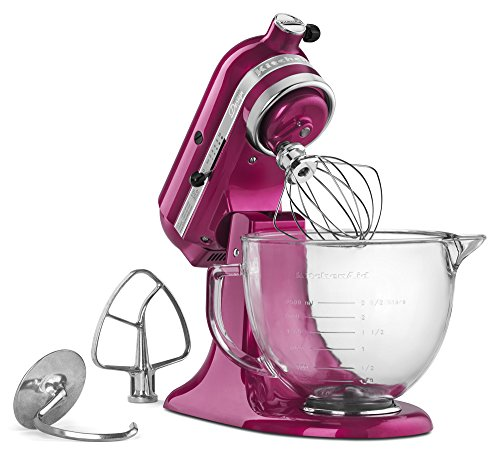 5 Quart Artisan Kitchenaid Stand Mixer Makes A Statement