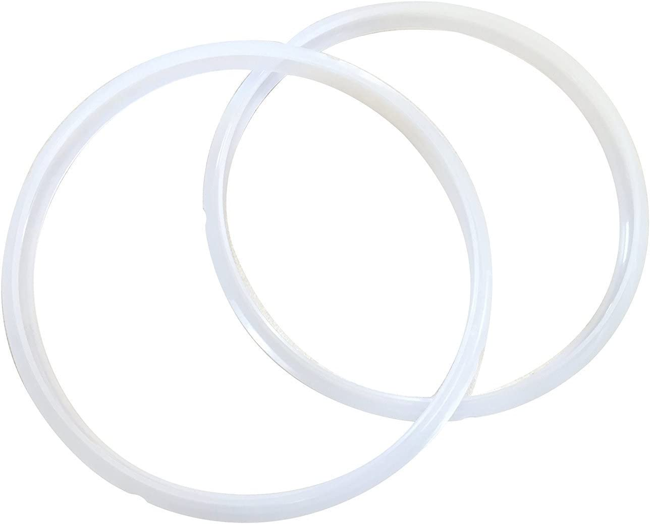 """""""TWIN PACK: 2 Sealing Rings Compatible with Cuisinart Pressure Cooker Part CPC-SR600 for 6 Quart Cookers Including CPC-600 and CPC-900"""". These rings are not created or sold by Cuisinart."""