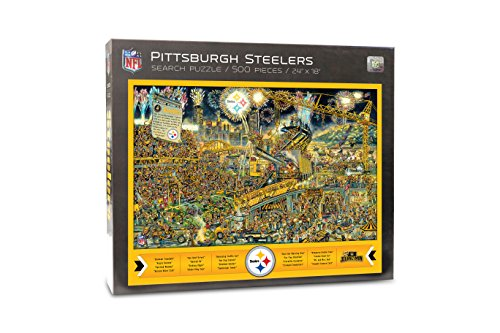 Joe Journeyman NFL Pittsburgh Steelers Jigsaw Puzzle, 500-Piece