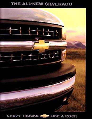 1999 Chevrolet Silverado Sales Brochure Literature Book Advertisement Options (Brochure Sales Silverado)