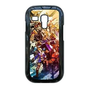 Final Fantasy Tactics caso I8190 R6D60Z0PM galaxia S3 Mini funda 60N4JG negro