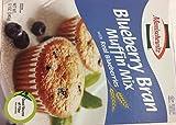 Manischewitz Blueberry Bran Muffin Mix Wit Real Blueberries Kosher For Passover 12 Oz. Pack Of 3.