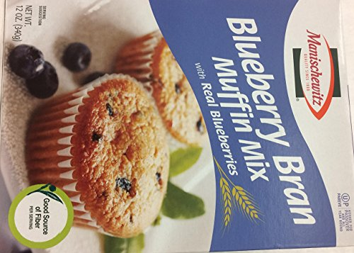 Whole Wheat Bran Muffins - Manischewitz Blueberry Bran Muffin Mix Wit Real Blueberries Kosher For Passover 12 Oz. Pack Of 3.