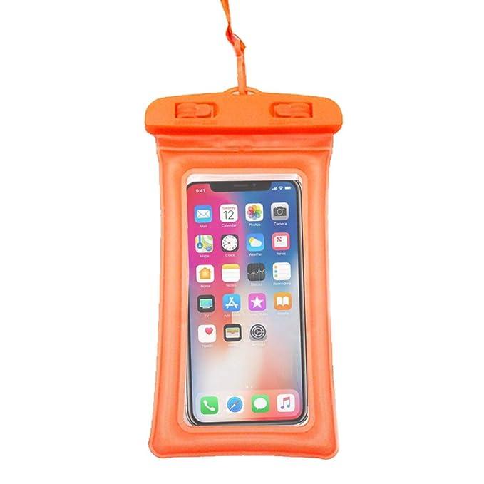 Amazon.com: Hourui Floating Waterproof Phone Case Waterproof ...