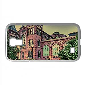 HDR in an 18th Century Victorian Garden Watercolor style Cover Samsung Galaxy S4 I9500 Case (Washington Watercolor style Cover Samsung Galaxy S4 I9500 Case)