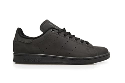 best service c5edb 8a759 adidas da Uomo - Stan Smith - Nero Riflettente - S75546, Nero (Black  Reflective), 44 EU Amazon.it Scarpe e borse