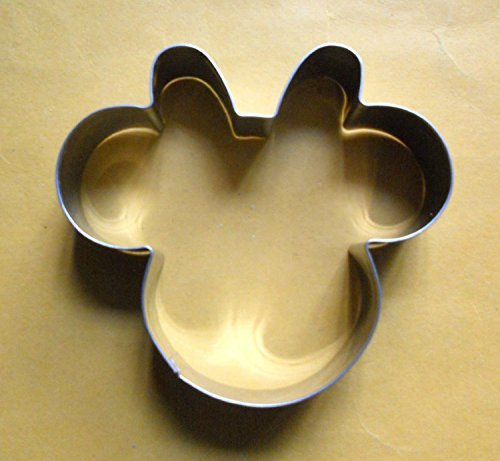FAK Minnie Mouse Party Baking Biscuit Pastry Steel Cookie Cutter
