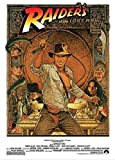 Indiana Jones - Raiders of the Lost Ark 1982 - Cracking the Whip 36x24 Movie Art Print Poster Harrison Ford Karen Allen Action Adventure