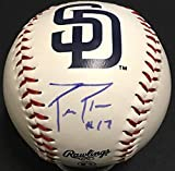 Phillip Rivers Chargers Qb Autographed Signed Sd Padres Baseball Autographed Signed Ins 17 PSA/DNA Coa