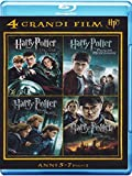 harry potter blu ray box set - harry potter - 4 grandi film #02 (4 blu-ray) box set blu_ray Italian Import