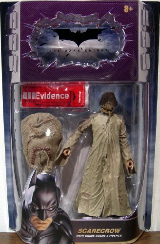Batman Dark Knight Movie Master Deluxe Action Figure Scarecrow (Crime Scene Evidence)]()
