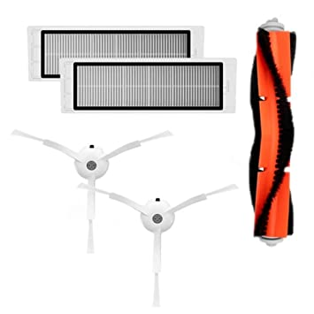Accesorios para Xiaomi Robot Aspirador, Robot piezas de aspiradora,Kit de Parte para Xiaomi Robot Roborock: Amazon.es: Bricolaje y herramientas