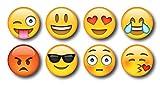 Nourish Emj-8 Emoji Fridge Magnets (Standard)