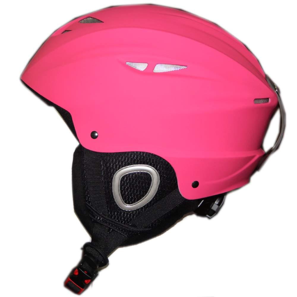 幼児用ヘルメット 子供用ヘルメット、サイクリング、スケート、スクーティング、スキー、自転車用通気性通気口12個付き子供用安全調整自転車ヘルメット(56-59cm) (Color : Pink)   B07Q3FCBMT