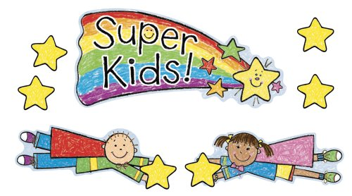Carson Dellosa Super Kids Job Assignment Bulletin Board Set (110100) - Kid Drawn Bulletin Board