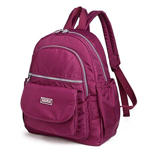 imperméable à sac à Couleur Sac mode bébé d'épaule sac mère fonctionnel dos portable la multi à Dark Purple Dark l'extérieur du Purple pPPqaFTO