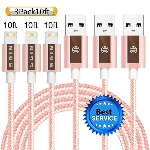 10 feet cord ipod 5 - 6