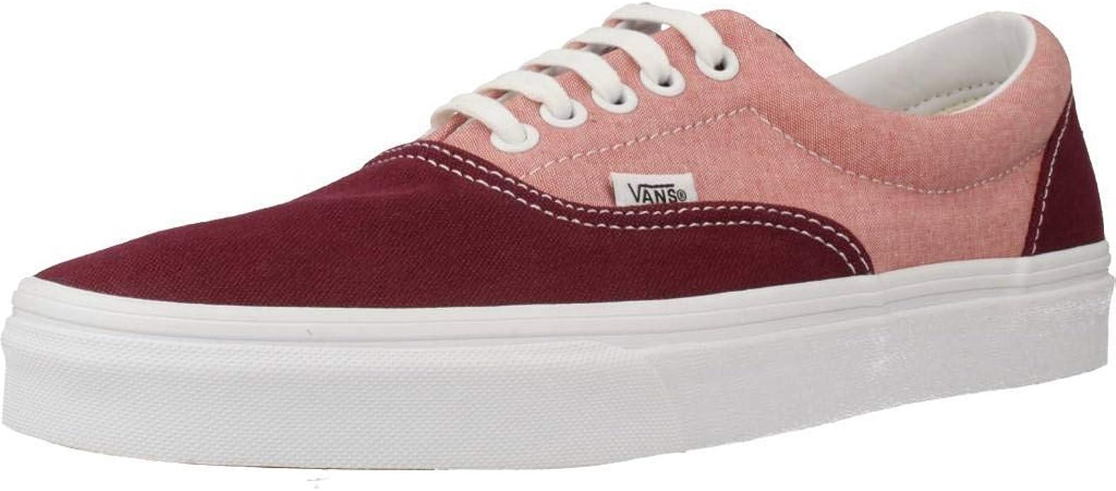 Vans Era Sneakers Damen Herren Unisex Burgunderrot/Rosa
