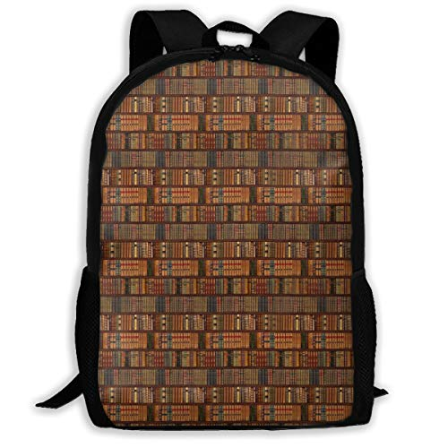 (The Illusion Of Words Adult Backpack School Bag Business Backpack Travel Pack)
