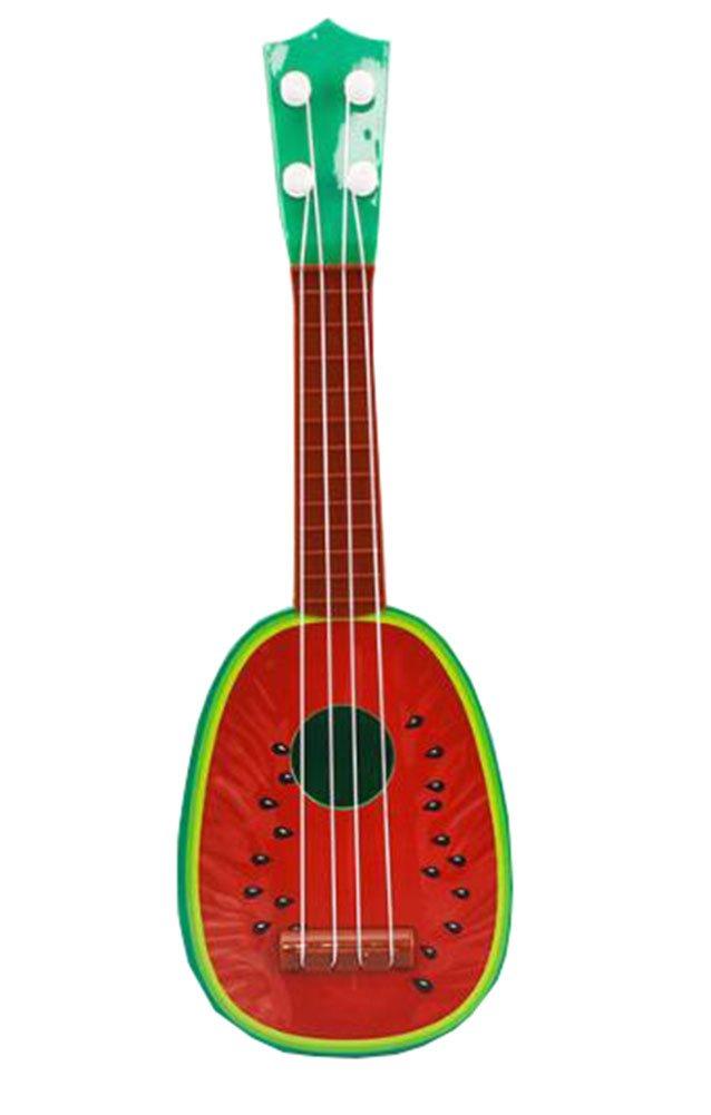 Black Temptation Early Education Exquisite Toy Gift Instrument de Musique Guitar Ukulele for Kids 32CM