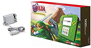 Nintendo 2DS Bundle (2 Items): Nintendo 2DS with the Legend of Zelda Ocarina of Time 3D - Link Edition and Tomee AC adapter by Nintendo