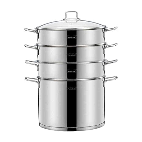 Cacerola For Vaporizador De Acero Inoxidable, Cocina De ...