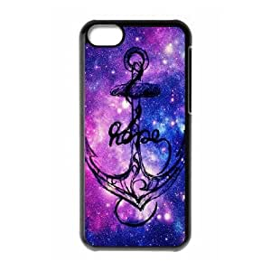 Hjqi - DIY Love anchors Cell Phone Case, Love anchors Custom Case for iPhone 5C
