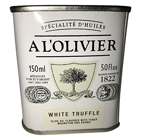 L'Olivier White Truffle Infused Extra Virgin Olive Oil Tin - 5 oz.