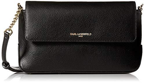 Karl Lagerfeld Paris IRIS Hermine Flap Crossbody, -