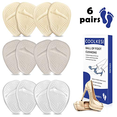 COOLKESI Metatarsal Cushions Reusable Silicone product image