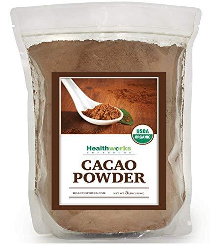 Healthworks Cacao Powder Organic 3 Pound