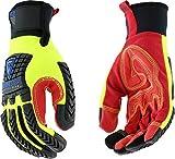 West Chester 87810 R2 Reinforced Comfort Impact Glove, Medium