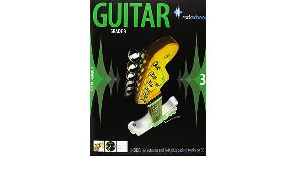 Rockschool Guitar - Grade 3 (2006 - 2012). Para Guitarra: Amazon.es: Instrumentos musicales