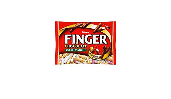 Amazon.com : Kabaya finger chocolate 173g ~ 6 bags : Grocery & Gourmet Food