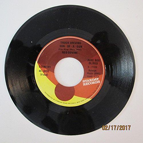 Red Sovine - Truck Driving Son Of A Gun / Coleman Wilson - Radar BLues (7