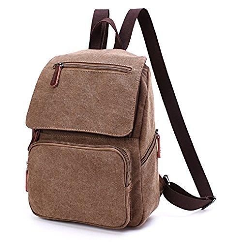 ee7b0d97a Outreo Mochila Escolares Bolso Mujer Bolsos de Tela Backpack Vintage Bolsas  de Viaje Casual Bag Bolsos