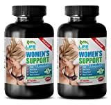 post menopause natural supplement - WOMEN'S SUPPORT COMPLEX PREMIUM - licorice root extract - 2 Bottles (120 Capsules)