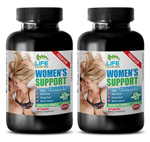 post menopause natural supplement - WOMEN'S SUPPORT COMPLEX PREMIUM - licorice root extract - 2 Bottles (120 Capsules) - Licorice Root Menopause
