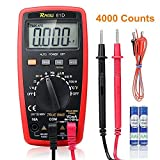 RAGU 81D Auto Ranging Digital Multimeter, 4000 Count AC/DC Voltage/Current Resistance Temperature Diode Continuity Measurement Tool, Electronic Test Meter / Measuring Instrument