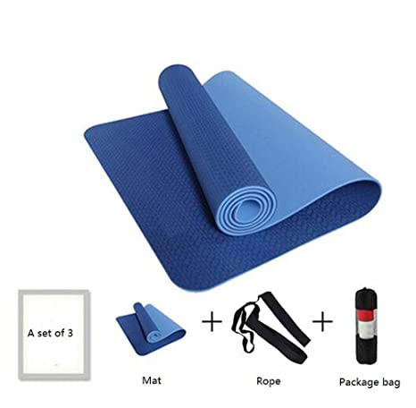 kefjx - Esterilla Antideslizante para Yoga (6 mm): Amazon.es ...