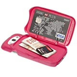 Samsung Galaxy S3 Cell Case, Ultra Slim Wallet and Card Holder- the FoneZafe Pink, Best Gadgets