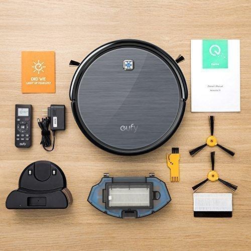 L'Eufy RoboVac 11 et ses accessoires