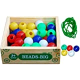Little Genius Beads (Big - 50 Pieces)