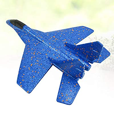 NUOBESTY Fighter Aircraft Outdoor Foam Assembly EPP Glider Airplane Toys Aerobatic Planes for Boys Girls Gift for Christmas: Kitchen & Dining
