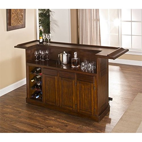 (BOWERY HILL Home Bar in Brown Cherry )
