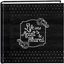 Pioneer Photo Albums 200-Pocket Chalkboard Printed \
