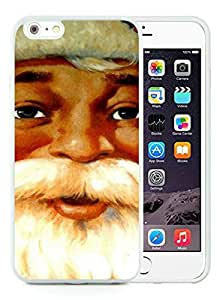 Custom-ized iPhone 6 Plus Case,Santa Claus White iPhone 6 Plus 5.5 TPU Case 14